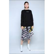 LADIES SWEATSHIRT MIT QUASSEN